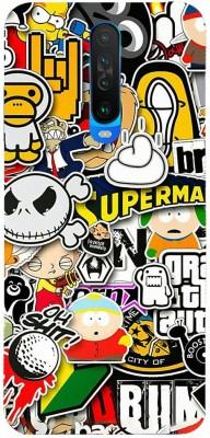 Insane Back Cover for Poco X2, Mi Redmi K30, Mi Redmi K30 5G(Multicolor, Hard Case)