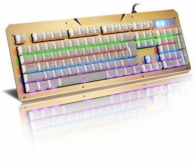 Mandir 070  key board Wired USB Gaming Keyboard Multicolor