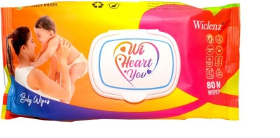 Wiclenz Baby Wet Wipes 80 Wipes