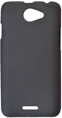 FITSMART Back Cover for HTC Desire 516 dual sim(Black, Shock Proof, Silicon)