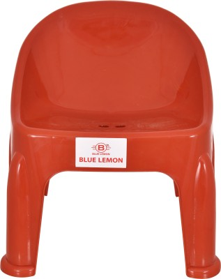 blue lemon Plastic Chair(Finish Color - Red)