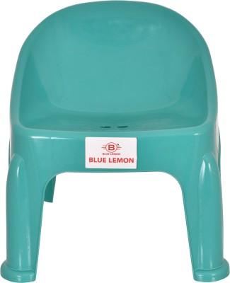 blue lemon Plastic Chair(Finish Color - Blue)
