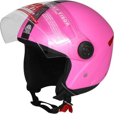 JMD WONDER Pink M/L ,Open/Half Face Motorbike Helmet(Pink)