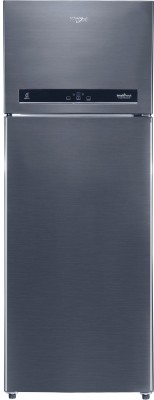 Whirlpool 440 L Frost Free Double Door 3 Star (2020) Convertible Refrigerator(Steel Onyx, IF INV CNV 455 (3s)-N)