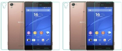 MudShi Front and Back Screen Guard for Sony Xperia Z3(Pack of 4)