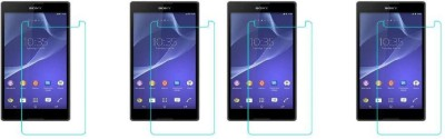 MudShi Front and Back Screen Guard for Sony Xperia T2 Ultra(Pack of 4)