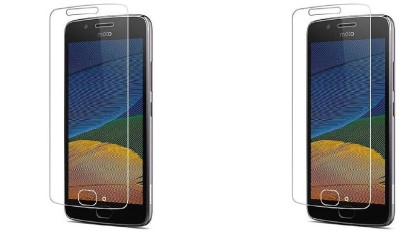 Phonicz Retails Impossible Screen Guard for Motorola Moto G5 Plus(Pack of 2)