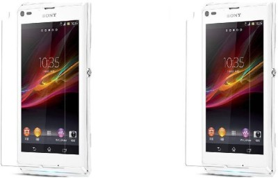 Zootkart Impossible Screen Guard for Sony Xperia L(Pack of 2)