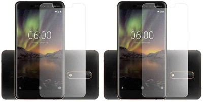 Zootkart Impossible Screen Guard for Nokia 6.1(Pack of 2)