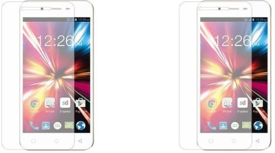 Phonicz Retails Impossible Screen Guard for Micromax Canvas 2 Colours A120(Pack of 2)