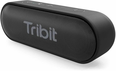 Tribit Portable XSound Go Wireless Speakers with 24-Hour Playtime, 66FT Bluetooth Range, Waterproof and Built-in Mic (Black) 6 W Bluetooth...