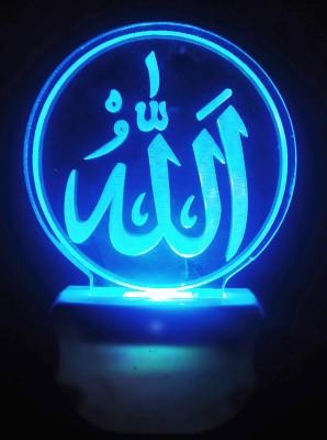 Gojeeva The Allah Sign 3D illusion 7 Multicolor lighting effect Night Lamp...