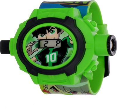 Cstyle Ben 10 Digital Watch   For Boys   Girls Cstyle Wrist Watches