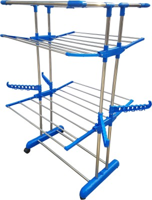 SUNDEX Steel Floor Cloth Dryer Stand SPECIAL PRODUCTS(2 Tier)