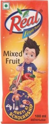 Real Fruit Juice Mixed(180 ml)