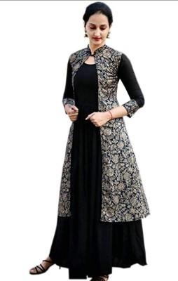 Rooplaxmi Fashion Women Ethnic Jacket and Kurta Set
