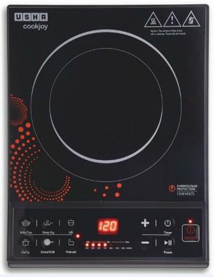 Usha IC-3616 Induction Cooktop(Black, Push Button)