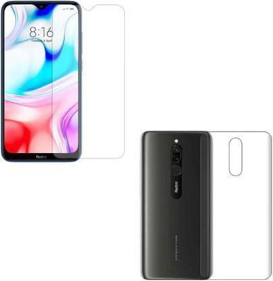 MD COLLECTION Tempered Glass Guard for MI REDMI 8(Pack of 1)
