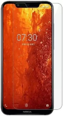 ISAAK Tempered Glass Guard for Nokia 8.1 (Nokia X7)(Pack of 1)
