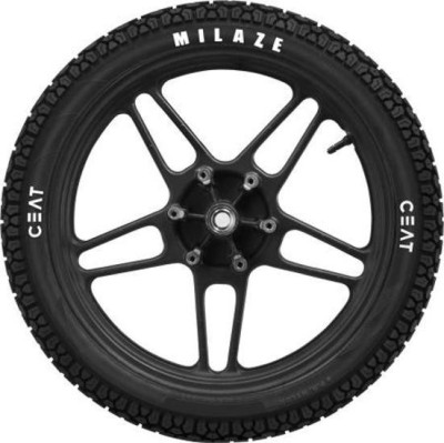 CEAT 4319 90/90/12 Front   Rear Tyre Dual Sport, Tube Less CEAT Bike Tyres