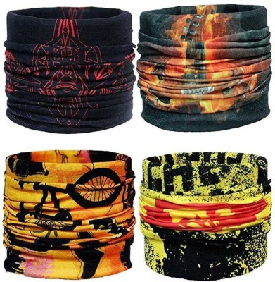 VIEN Boys & Girls, Women, Men, Men & Women, Boys, Girls Graphic Print Bandana(Pack of 4)