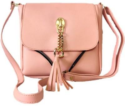 style bits Women Beige Sling Bag