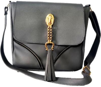 style bits Women Grey Sling Bag