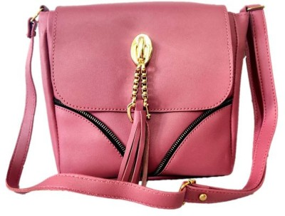 style bits Women Pink Sling Bag