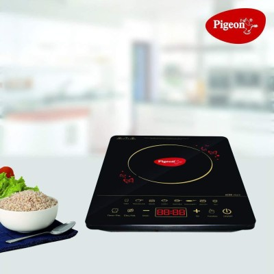Pigeon Acer plus Induction Cooktop Induction Cooktop(Black, Touch Panel)