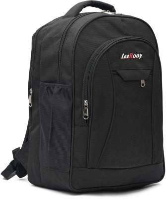 LeeRooy 17 inch Expandable Laptop Backpack Black LeeRooy Laptop Bags