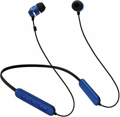 Samsung C&T ITFIT A08B GP-OAU019SABBI Flexible Neck Band and Handsfree Bluetooth Headset(Blue, Wireless in the ear)