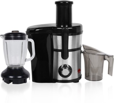 BMS Lifestyle juicer 5-in-1 Professional Food Processer and Juicer Combo, Powerful Motor with 2-Speed, Food Grade Material includes Wide Mouth...