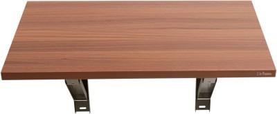 Madhuran Royal Mini Wall Mounted Walnut Table Engineered Wood Study Table(Wall Mounted, Finish Color - Brown)
