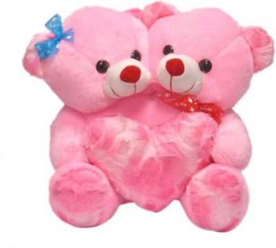 Prince Soft Toys Valetine Special ,, Pink Couple Teddy Bear 17 Inch   17 in   17 inch Pink Prince Soft Toys Soft Toys