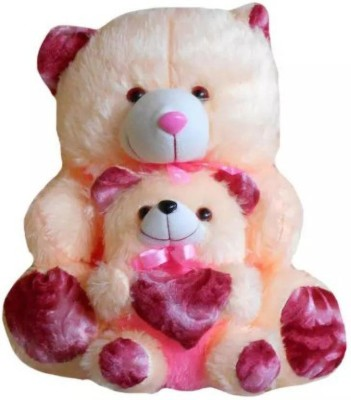 SUN AND STAR CREATIONS Cute Bay With Cream Teddy Bear 25 Inch   25  Cream    60 cm Beige SUN AND STAR CREATIONS Soft Toys