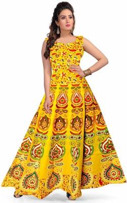 Rangun Women Maxi Multicolor Dress