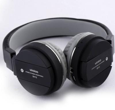 Royaldeals SH12 Bluetooth 4.1 Wireless Earphone Headphone with Mic, Sweatproof Sports Headset Smart Headphones Wireless Royaldeals Smart Headphones