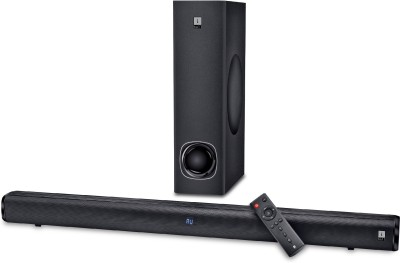 iBall Cinebar 100 High Power 80 W Bluetooth Soundbar(Black, 2.1 Channel)