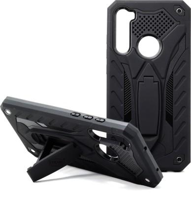 VAKIBO Back Cover for MI Redmi Note 8(Black, Rugged Armor)