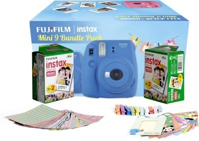 Fujifilm Instax Camera Mini 9 Bundle Pack Instant Camera(Blue) 1