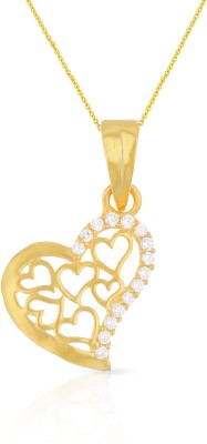 Malabar Gold and Diamonds PDDZSK3554_Y 22kt Yellow Gold Pendant