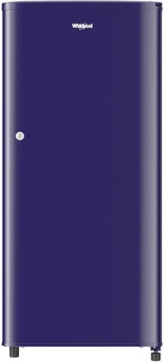 Whirlpool 190 L Direct Cool Single Door 3 Star (2020) Refrigerator(Solid blue, WDE 205 CLS 3S BLUE)