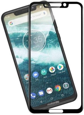 Dolphin Edge To Edge Tempered Glass for Motorola Moto One Power(Pack of 1)