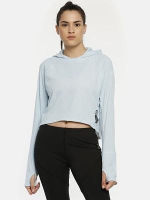 ADIDAS Full Sleeve Self Design Women Sweatshirt