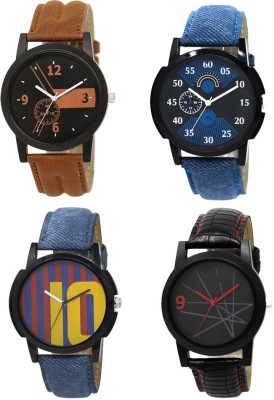 Heeva 12810-Men Creative Desing 4 Set Men Combo Analog Watch For-Men Analog Watch  - For Men