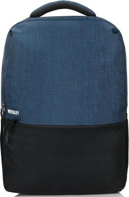 Wesley 16 inch Laptop Backpack(Blue)