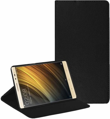 TGK Flip Cover for Lenovo Phab 2 Plus 6.4 inch [PB2-670M] Executive Leather with Soft Back Case(Black, Cases with Holder)