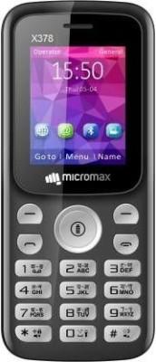 Micromax X378(Black)