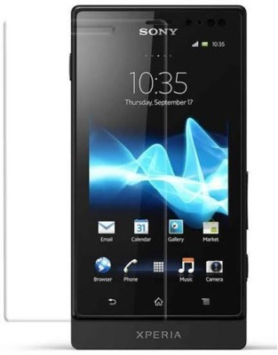 Tuta Tempered Screen Guard for Sony Xperia Sola(Pack of 1)