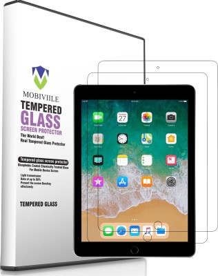 MOBIVIILE Tempered Glass Guard for Apple iPad 6th Gen 9.7 inch(Pack of 2)